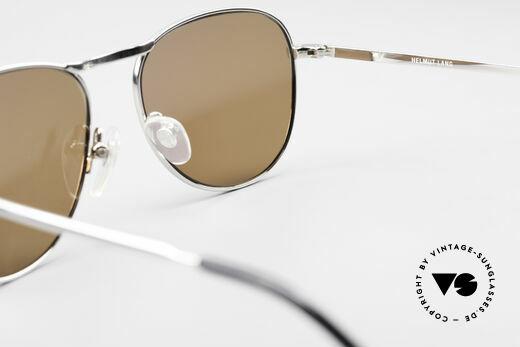 Helmut Lang 21-0006 Titanium Sunglasses Timeless, NO RETRO SUNGLASSES, but a 20 years old ORIGINAL, Made for Men