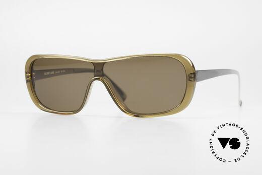 Helmut Lang SHL02B Stylish Titanium Sunglasses Details