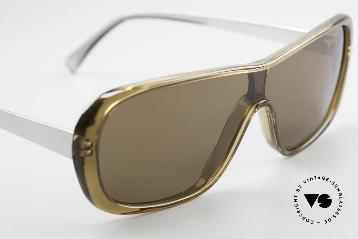 Helmut Lang SHL02B Stylish Titanium Sunglasses