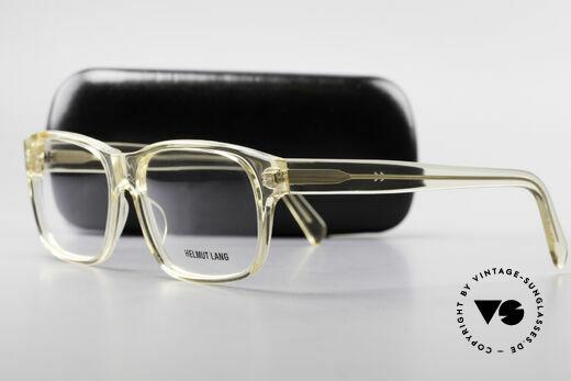 Helmut Lang 20-0001 Men's Vintage Glasses Crystal