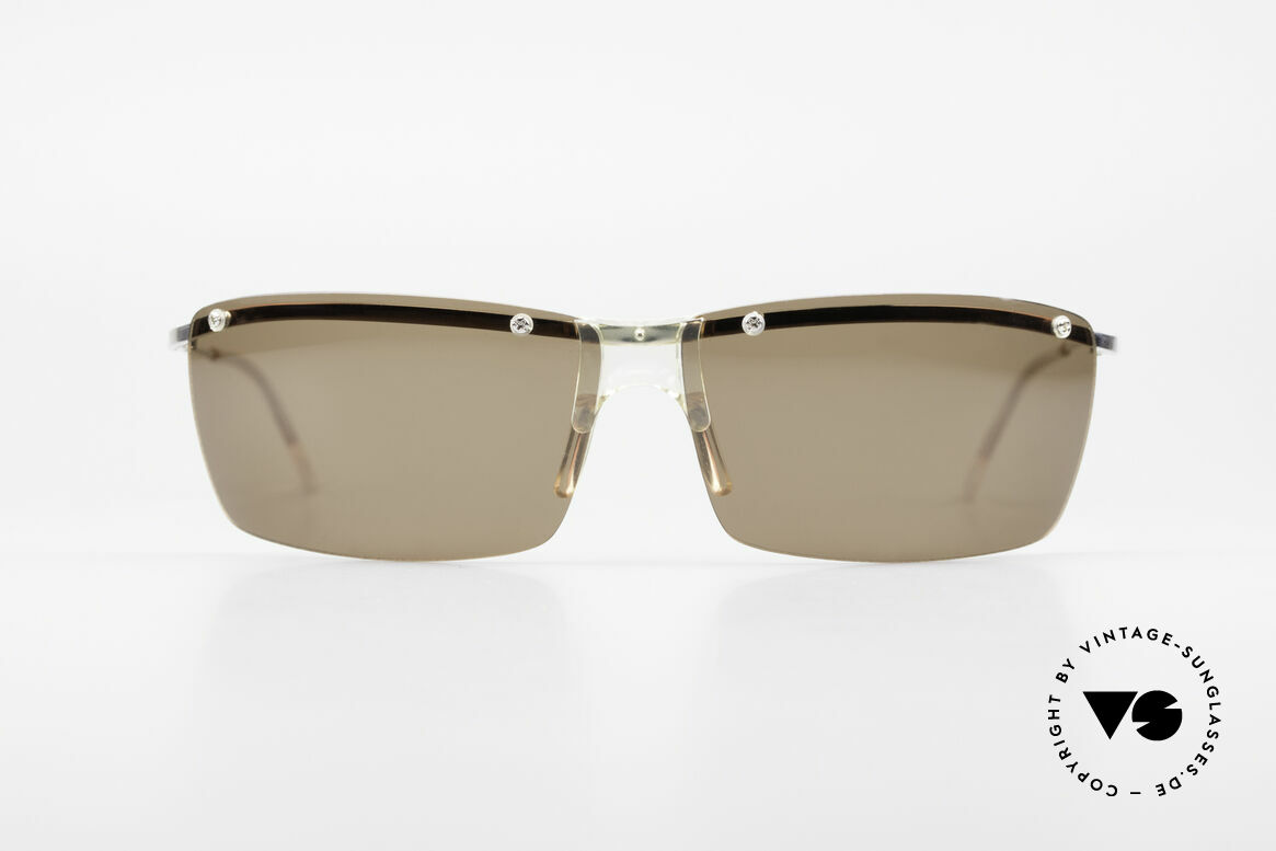 Helmut Lang SHL51A Sporty Titanium Sunglasses, stylish, elegant, puristic, functional, timeless, LANG, Made for Men