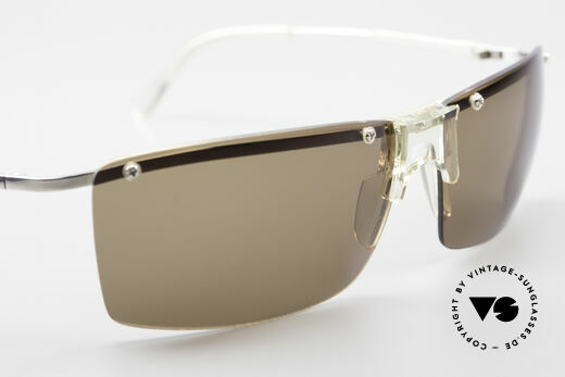 Helmut Lang SHL51A Sporty Titanium Sunglasses, NO RETRO SUNGLASSES, but a 20 years old ORIGINAL, Made for Men
