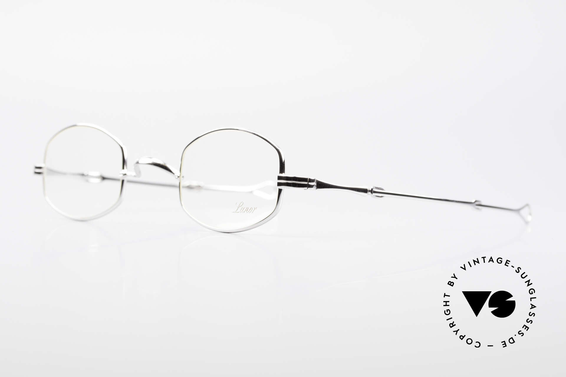"Lunor - Telescopic Extendable Frame Temples, well-known for the ""W-bridge"" & the plain frame designs, Made for Men and Women"