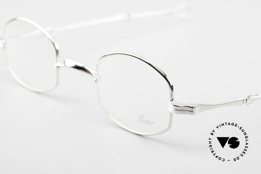 Lunor - Telescopic Extendable Frame Temples, the LUNOR frame comes with a vintage case by Metzler, Made for Men and Women
