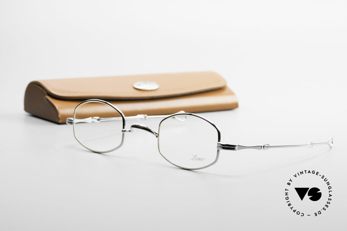 Lunor - Telescopic Extendable Frame Temples, Size: small, Made for Men and Women