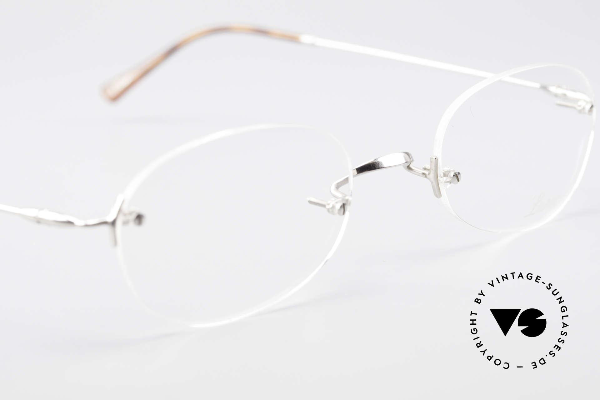 Lunor Rimless Timeless Vintage Eyeglasses, NO RETRO EYEGLASSES; but a luxury vintage ORIGINAL, Made for Men and Women