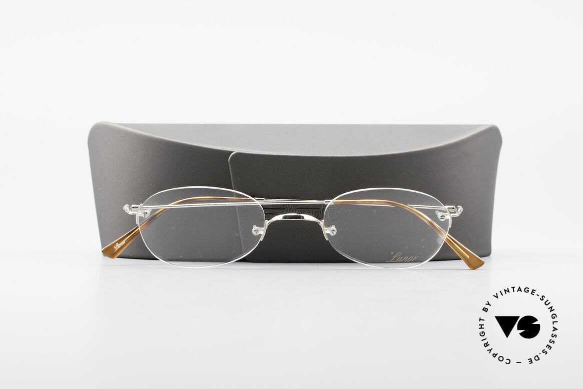 Lunor Rimless Timeless Vintage Eyeglasses