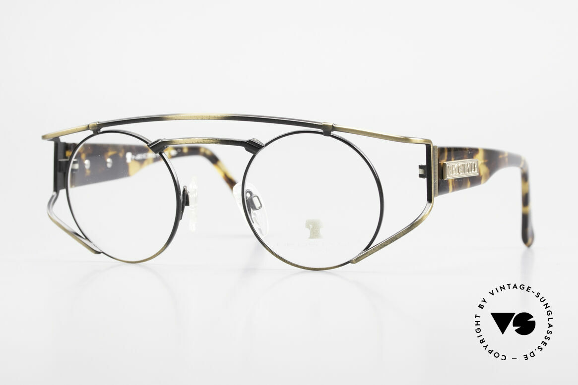 Neostyle Superstar 1 Steampunk Vintage Eyeglasses, NEOSTYLE Superstar 1, col. 801, size 45-23 frame, Made for Men and Women