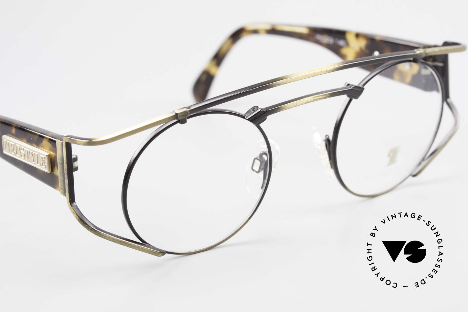 Neostyle Superstar 1 Steampunk Vintage Eyeglasses, unworn (like all our vintage STEAMPUNK glasses), Made for Men and Women