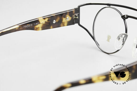 Neostyle Superstar 1 Steampunk Vintage Eyeglasses, NO RETRO fashion, but a 30 years old ORIGINAL!, Made for Men and Women