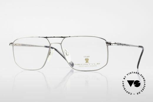 Neostyle Dynasty 362 XL Titanium Eyeglasses Men Details