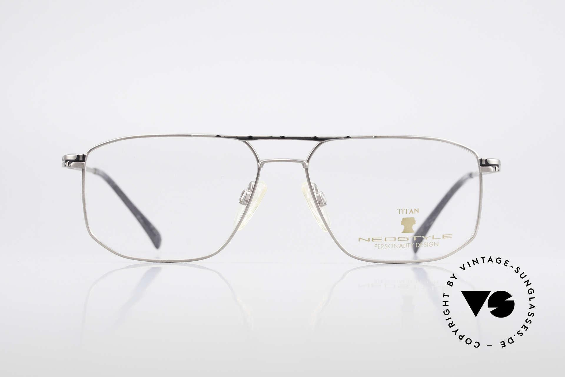 Neostyle Dynasty 362 XL Titanium Eyeglasses Men, top-notch craftsmanship (pure Titanium frame), Made for Men
