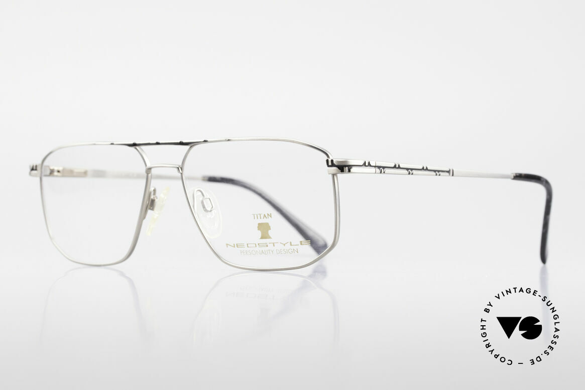 Neostyle Dynasty 362 XL Titanium Eyeglasses Men, with flexible spring hinges & orig. Neostyle box, Made for Men
