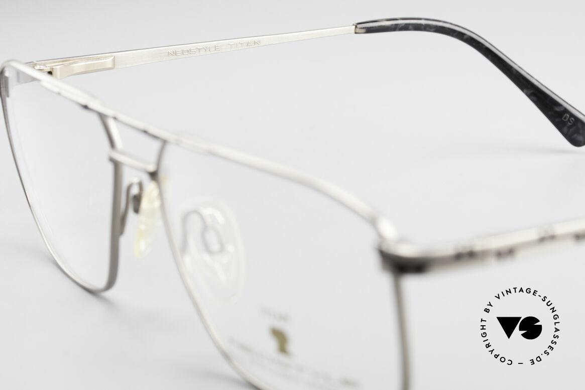 Neostyle Dynasty 362 XL Titanium Eyeglasses Men, NO RETRO glasses, just a stylish old ORIGINAL, Made for Men