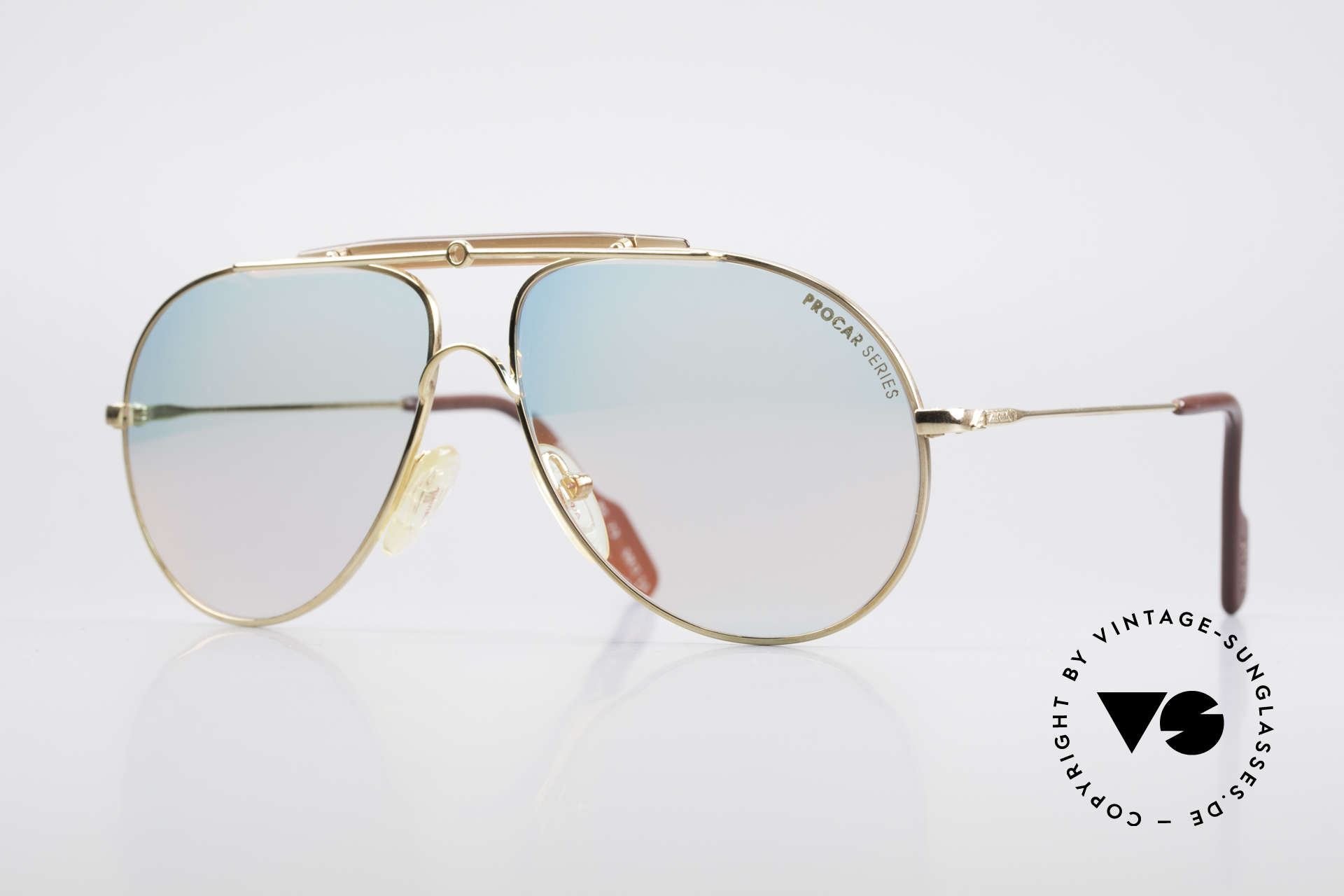 Alpina PC73 ProCar Serie Sunglasses Men, 'PC' = the legendary Procar Series by ALPINA of the 90's, Made for Men and Women