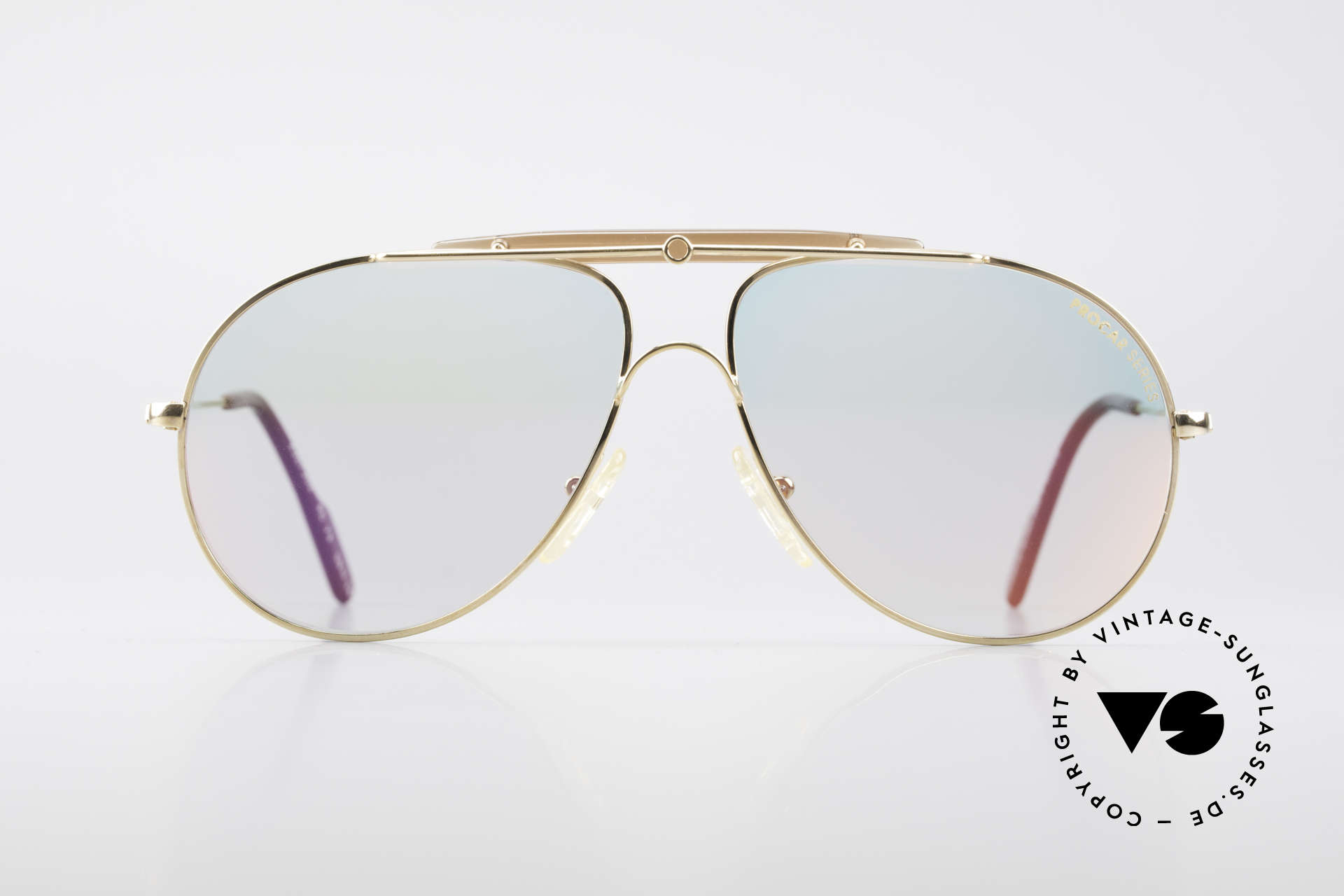 Alpina PC73 ProCar Serie Sunglasses Men, unique & rare, vintage aviator shades, made in Germany, Made for Men and Women
