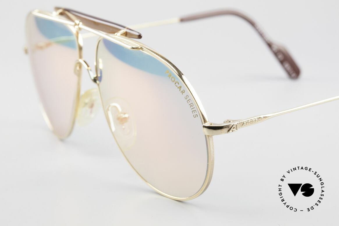 Alpina PC73 ProCar Serie Sunglasses Men, new old stock (like all our Alpina vintage ProCar shades), Made for Men and Women