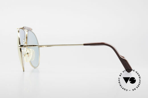 Alpina PC73 ProCar Serie Sunglasses Men, GOLD-PLATED frame, size 59/14, incl. a case by CHANEL, Made for Men and Women