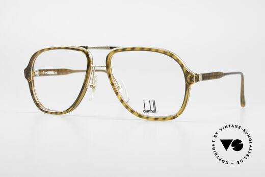 Dunhill 6077 80's Men's Vintage Eyeglasses Details