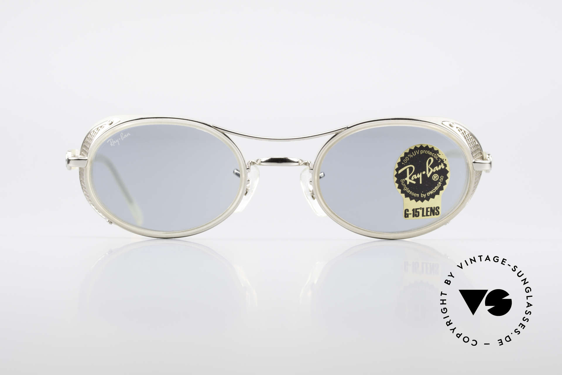Ray Ban Chaos RB3140 Steampunk Industrial Shades, HYBRID model from 1999 (when Luxottica bought B&L), Made for Men and Women