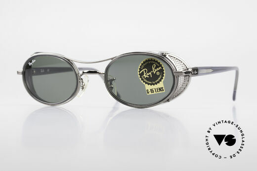 Ray Ban Chaos RB3140 B&L USA Luxottica Italy Hybrid Details