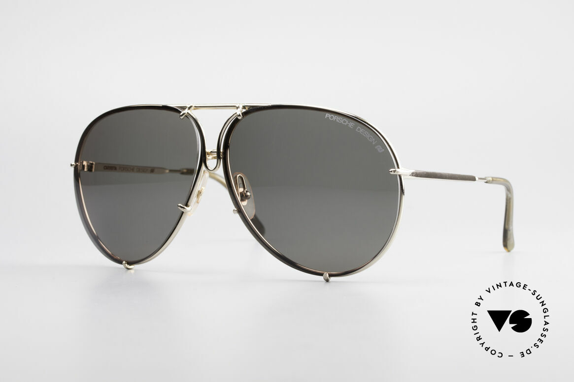 Porsche 5623 Johnny Depp Movie Shades, the legend with interchangeable lenses; true vintage, Made for Men and Women