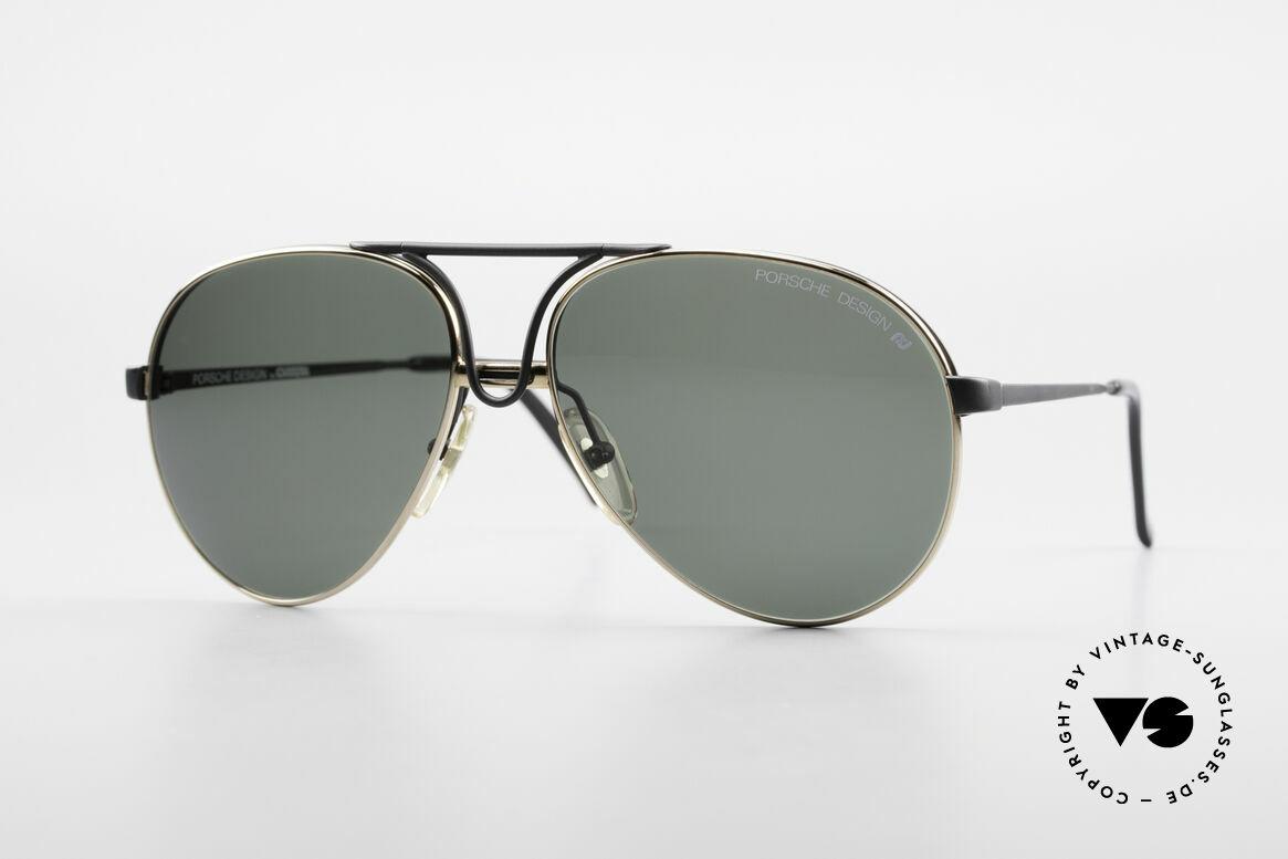 Porsche 5657 Interchangeable Frame 90's, noble designer (sun)glasses by PORSCHE Carrera, Made for Men