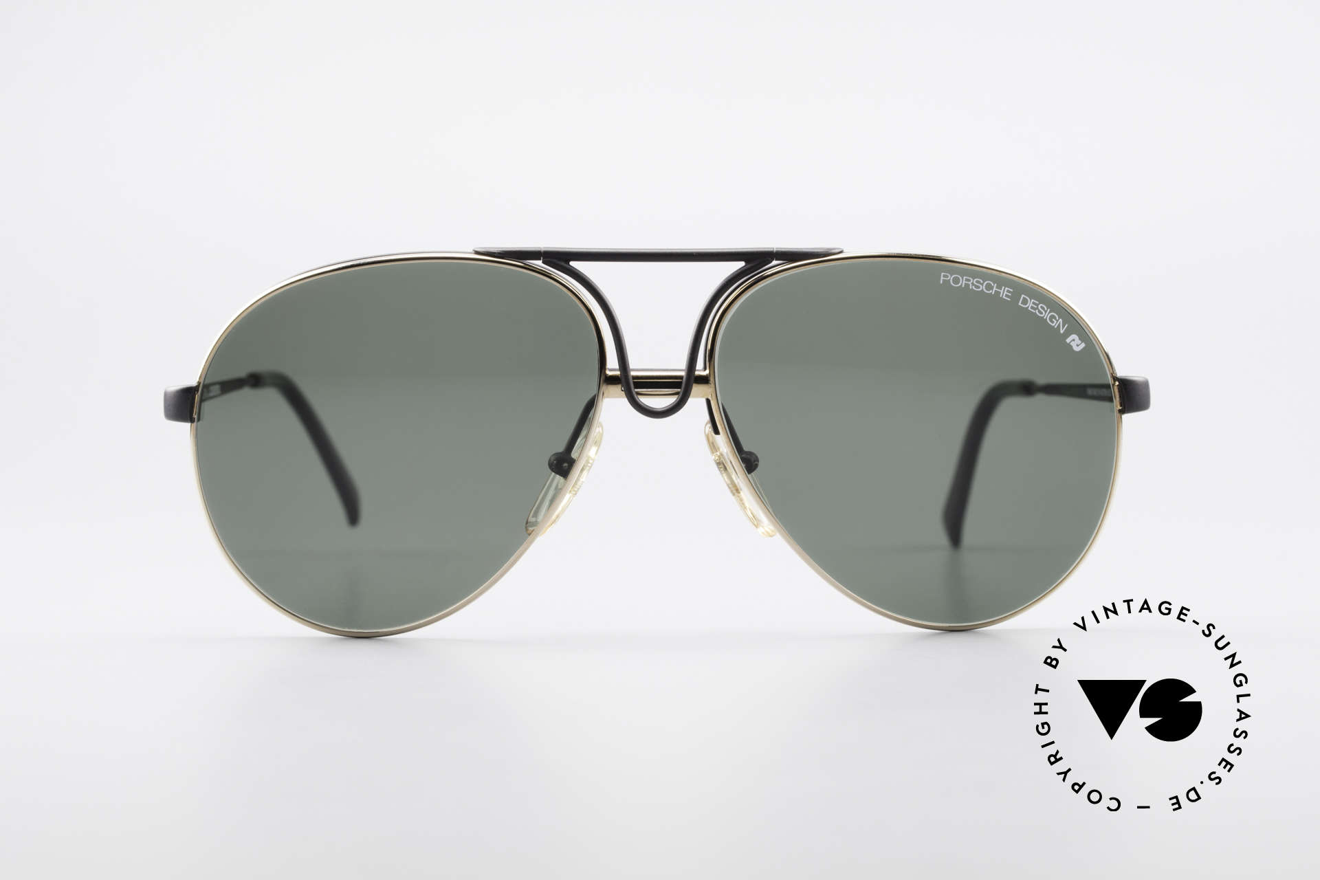 Porsche 5657 Interchangeable Frame 90's, frame with interchangeable front parts (lenses), Made for Men