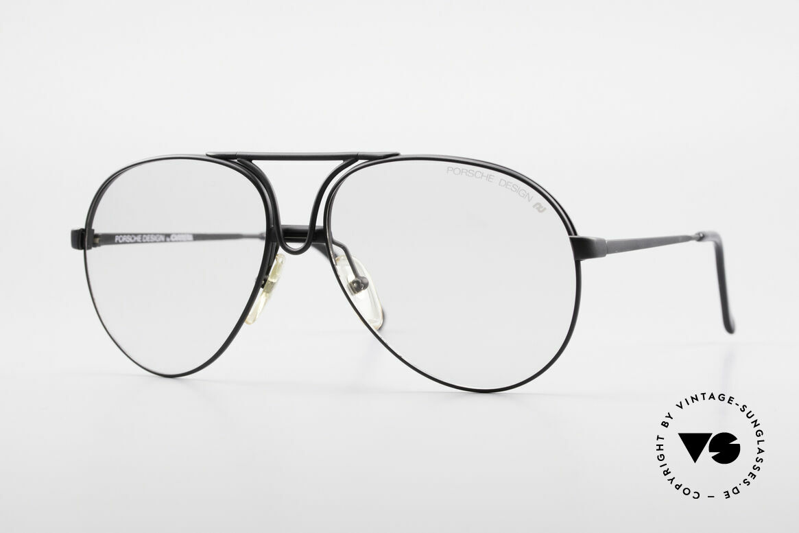 Porsche 5657 Interchangeable Frame 90's, thus, a combination of sunglasses and eyeglasses, Made for Men