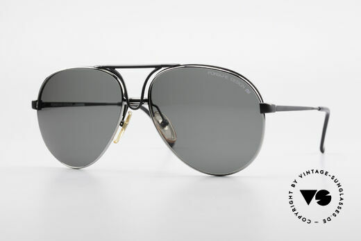 Porsche 5657 Interchangeable Sunglasses Details