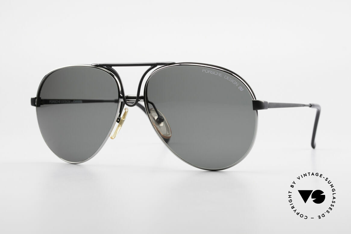 Porsche 5657 Interchangeable Sunglasses, noble designer (sun)glasses by PORSCHE Carrera, Made for Men