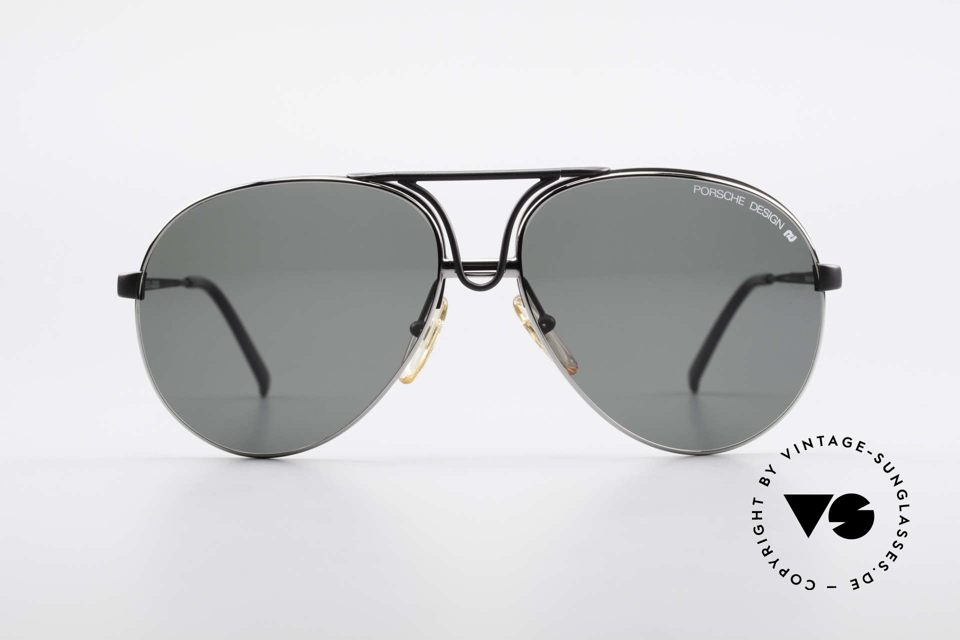 Porsche 5657 Interchangeable Sunglasses, frame with interchangeable front parts (lenses), Made for Men