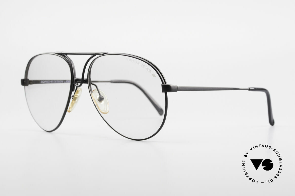 Porsche 5657 Interchangeable Sunglasses, thus, a combination of sunglasses and eyeglasses, Made for Men