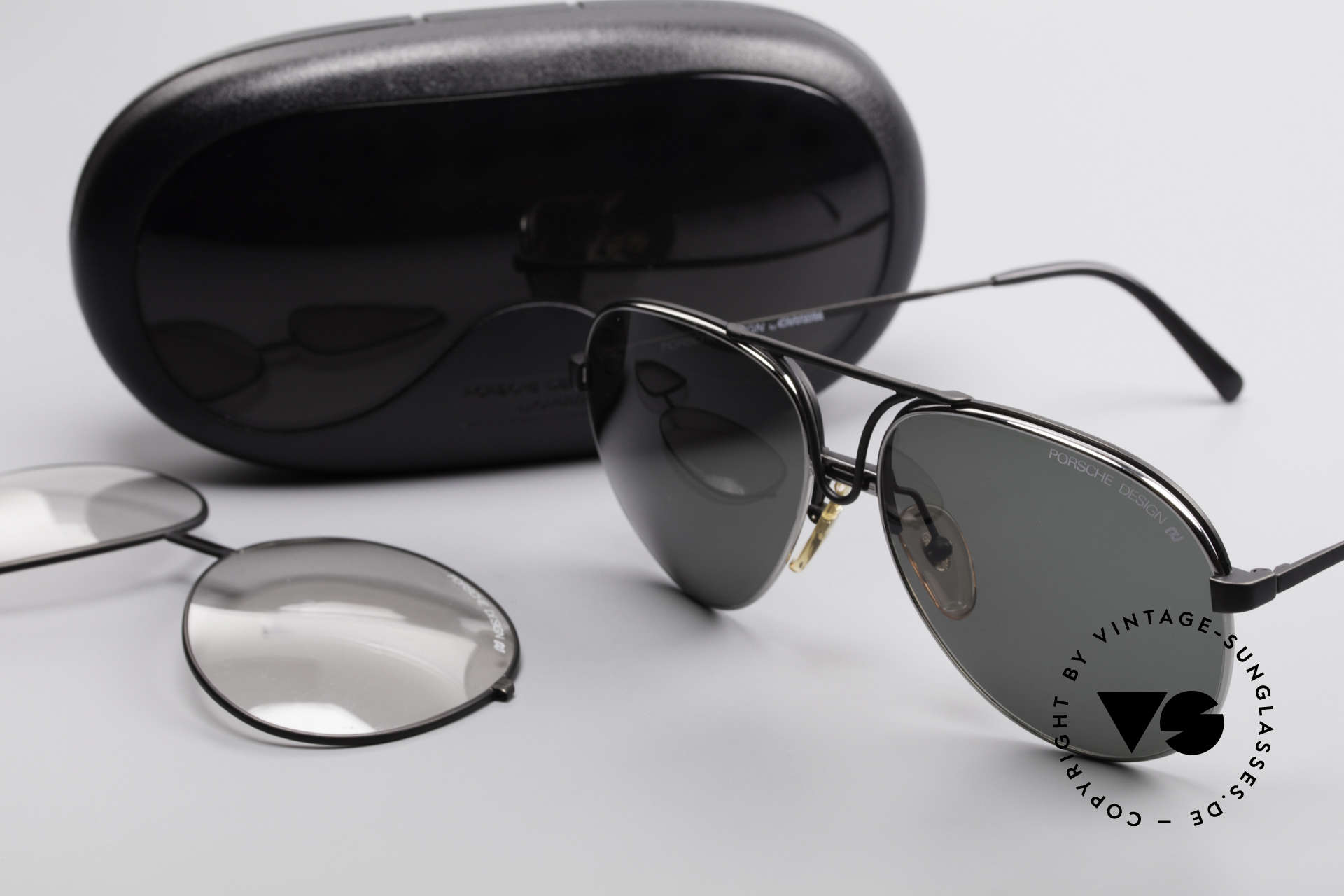 Porsche 5657 Interchangeable Sunglasses, NO RETRO EYEWEAR, but a rare old 90's original!, Made for Men