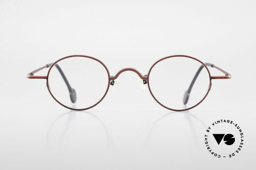 L.A. Eyeworks BODHI 427 Vintage Frame With Clip On
