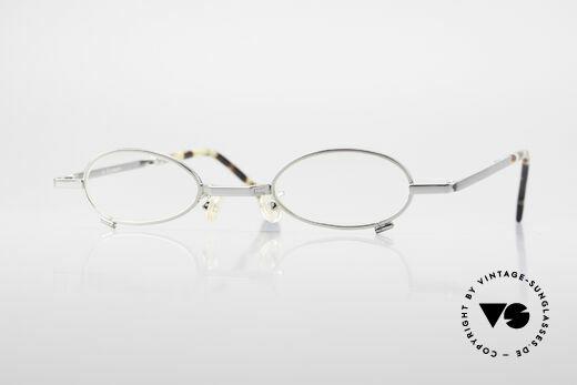 L.A. Eyeworks TIO 405 Vintage Folding Eyeglasses Details