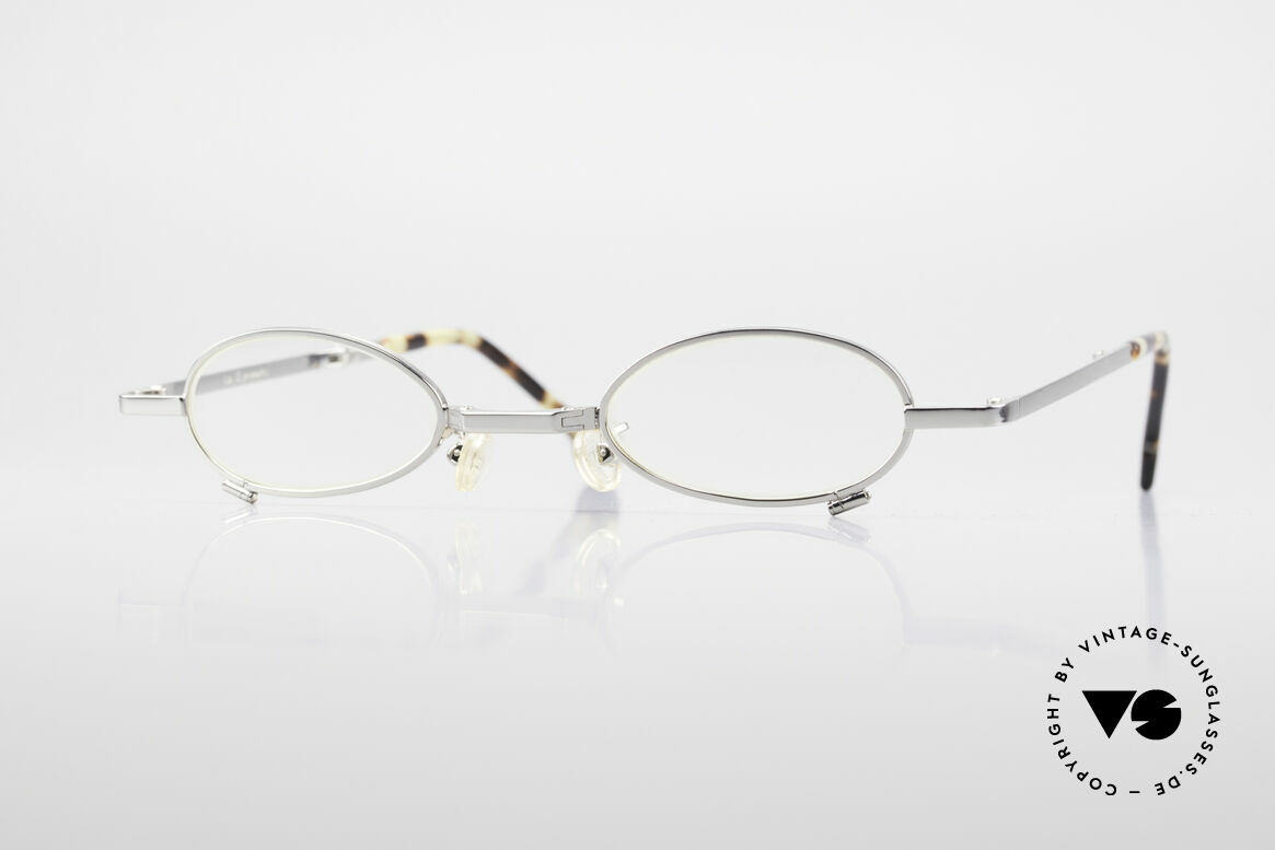 L.A. Eyeworks TIO 405 Vintage Folding Eyeglasses, L.A. Eyeworks: limited-lot productions from Los Angeles, Made for Men and Women