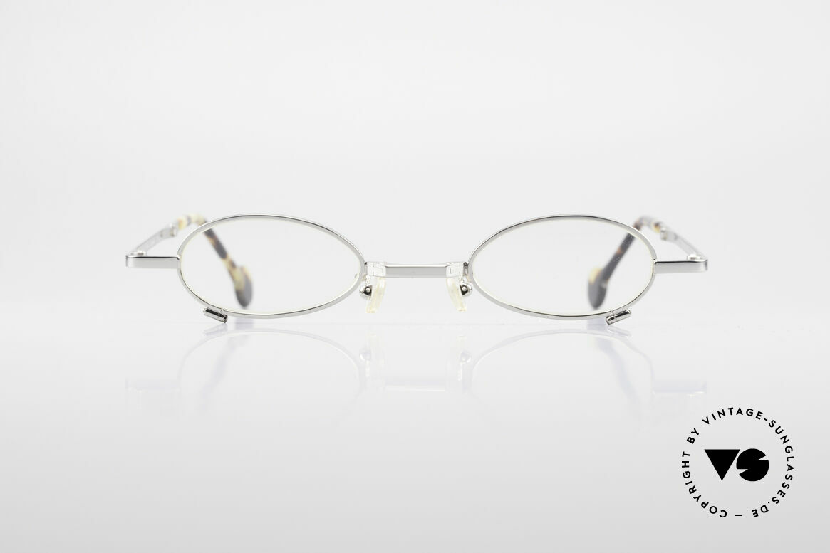 L.A. Eyeworks TIO 405 Vintage Folding Eyeglasses, with attention to details (every frame has a year of birth), Made for Men and Women