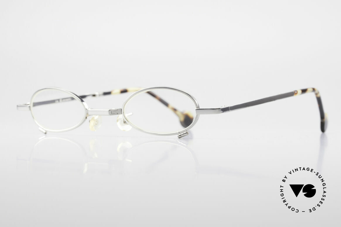 L.A. Eyeworks TIO 405 Vintage Folding Eyeglasses, functionality, materials and workmanship on TOP LEVEL, Made for Men and Women