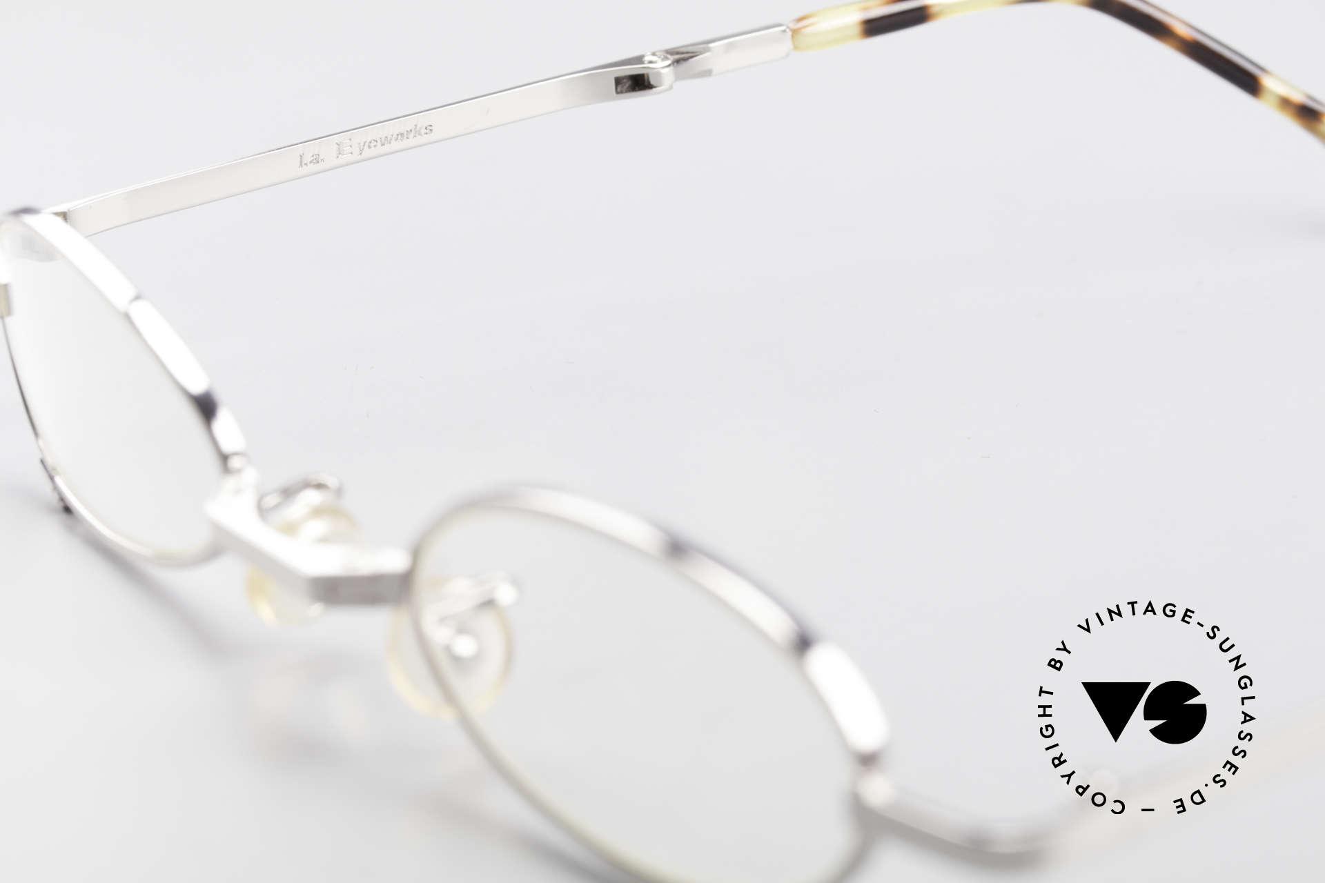L.A. Eyeworks TIO 405 Vintage Folding Eyeglasses, unworn (like all our VINTAGE L.A.E. designer-eyeglasses), Made for Men and Women