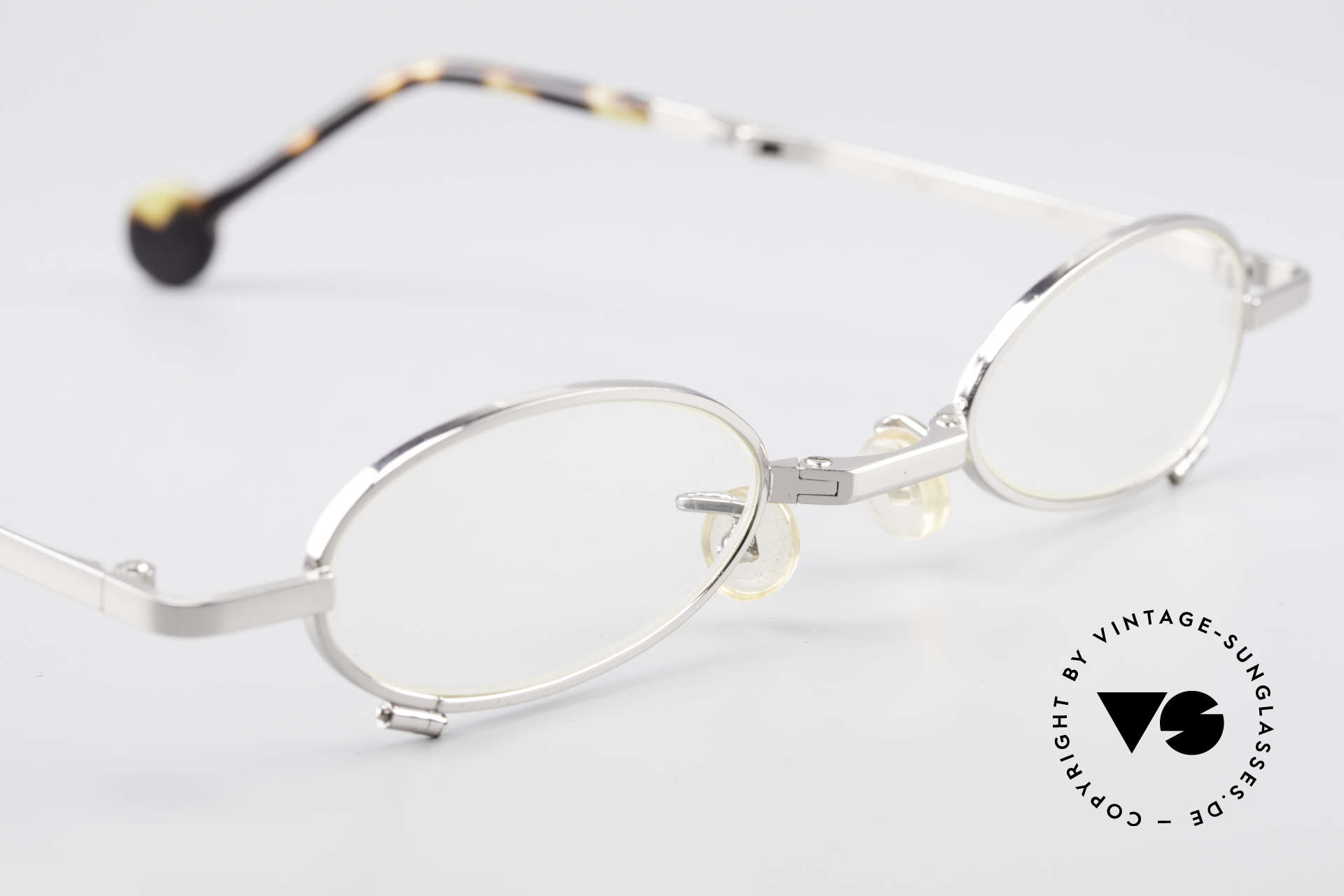 L.A. Eyeworks TIO 405 Vintage Folding Eyeglasses, NO RETRO eyewear, but an old original (Los Angeles, '94), Made for Men and Women