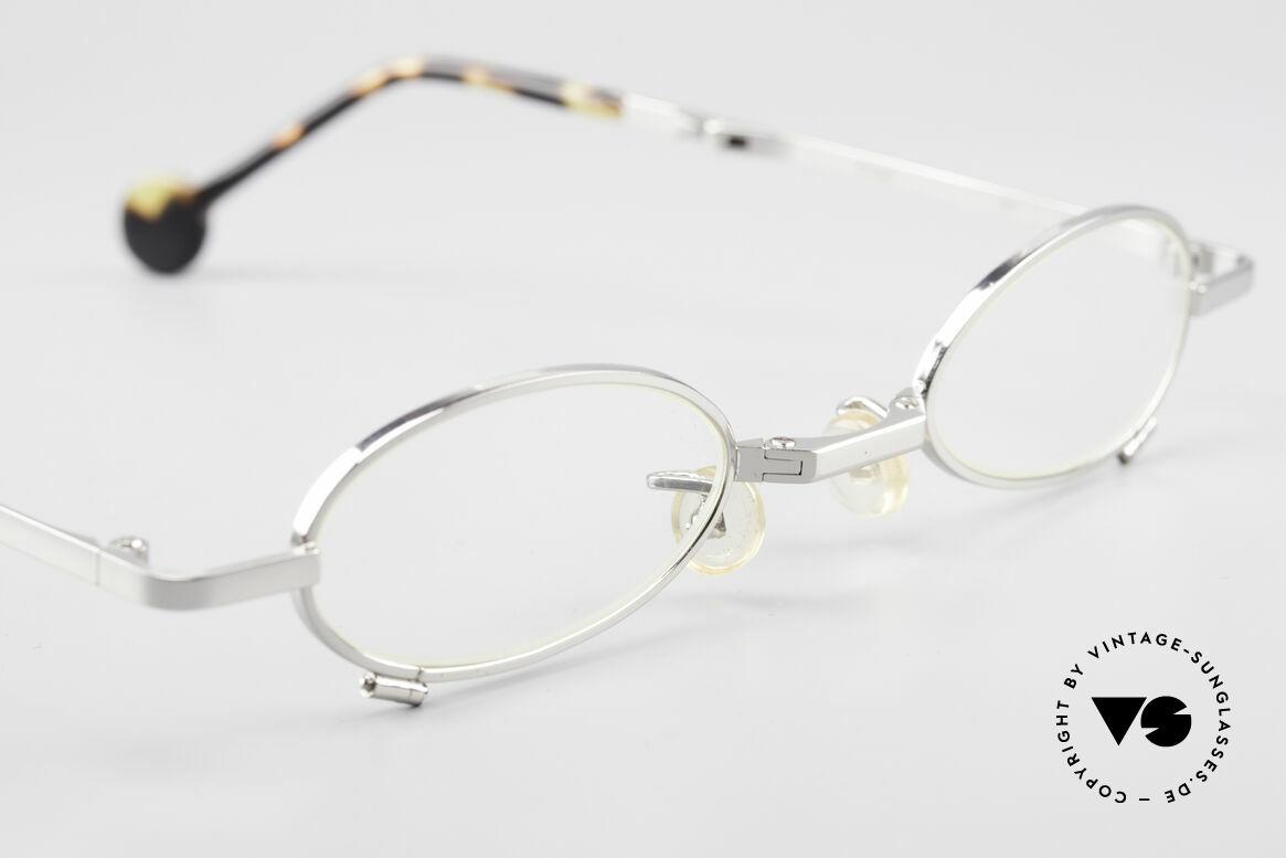 L.A. Eyeworks TIO 405 Vintage Folding Eyeglasses