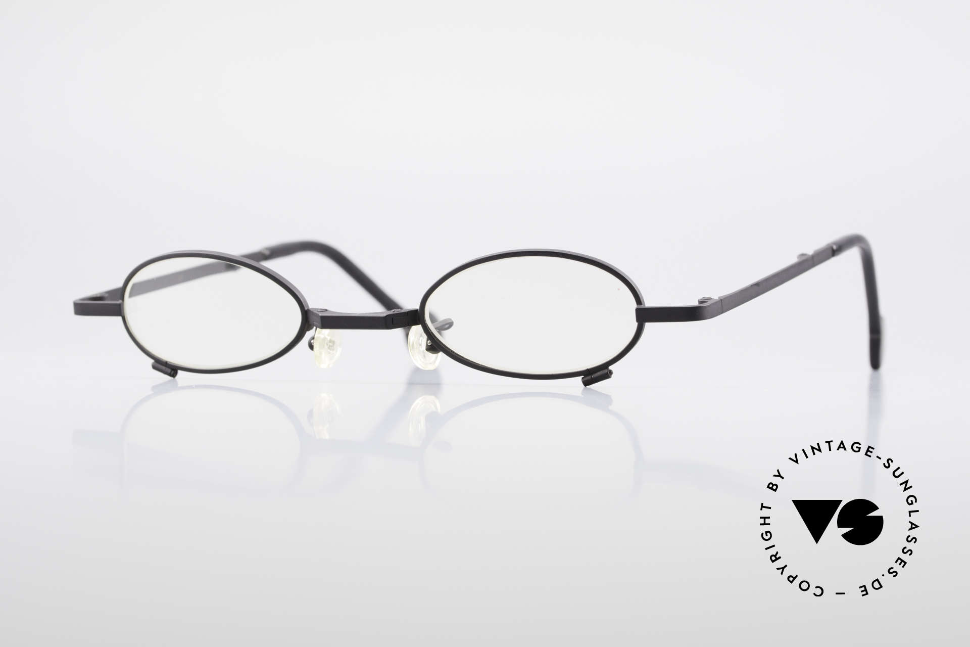 L.A. Eyeworks TIO 412 Vintage Foldable Eyeglasses, L.A. Eyeworks: limited-lot productions from Los Angeles, Made for Men and Women