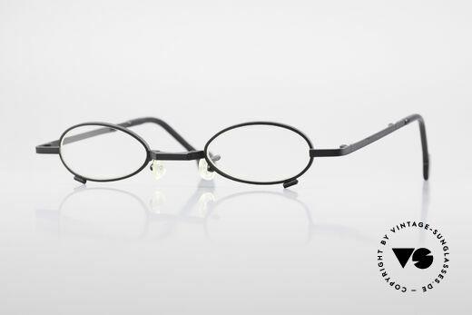 L.A. Eyeworks TIO 412 Vintage Foldable Eyeglasses Details