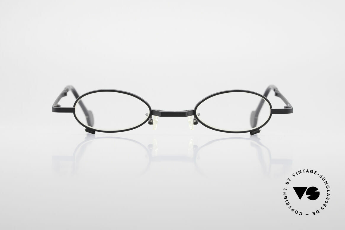 L.A. Eyeworks TIO 412 Vintage Foldable Eyeglasses, with attention to details (every frame has a year of birth), Made for Men and Women