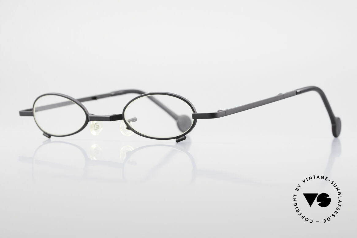 L.A. Eyeworks TIO 412 Vintage Foldable Eyeglasses, functionality, materials and workmanship on TOP LEVEL, Made for Men and Women