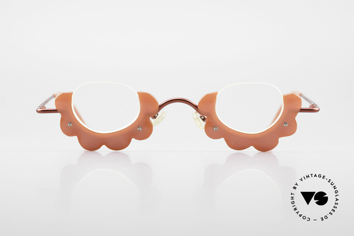 L.A. Eyeworks BUMBLE 487 Enchanting Ladies Eyeglasses, frame is shaped like a flower / blossom (EYE-CATCHER), Made for Women