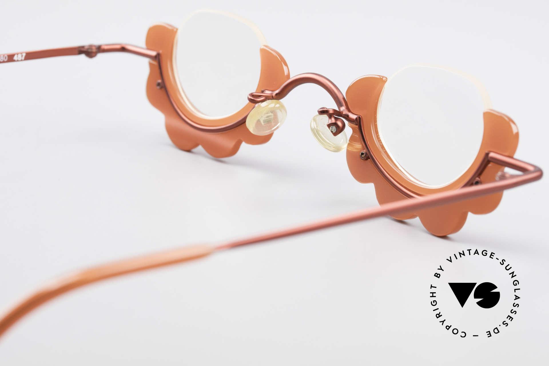 L.A. Eyeworks BUMBLE 487 Enchanting Ladies Eyeglasses, NO RETRO eyewear, but a beautiful old original (rarity), Made for Women