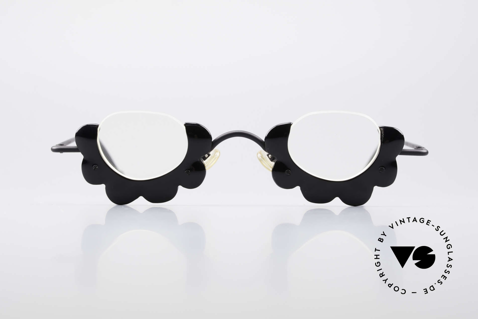 L.A. Eyeworks BUMBLE 412 Extraordinary Reading Glasses, frame is shaped like a flower / blossom (EYE-CATCHER), Made for Women