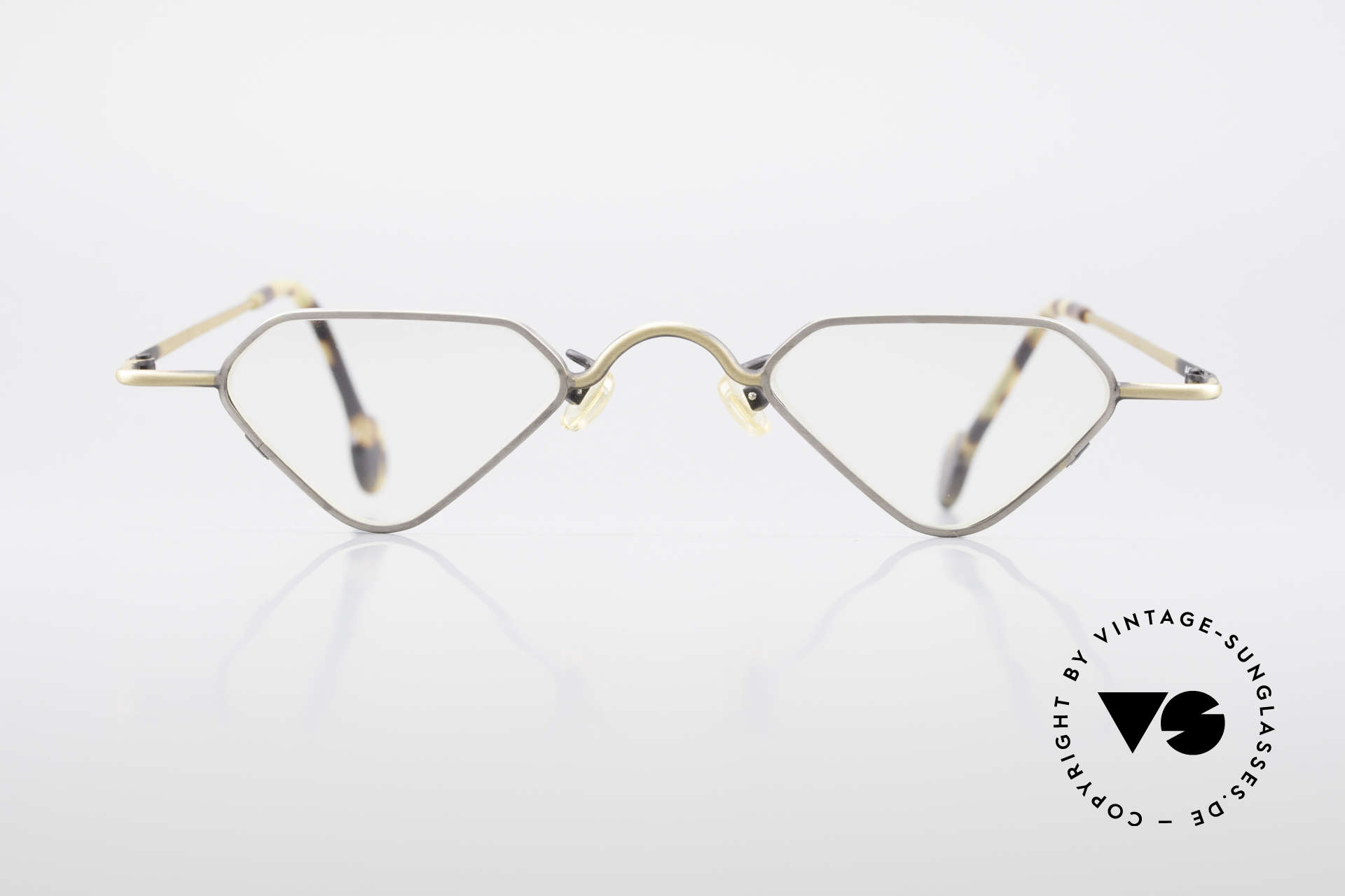 L.A. Eyeworks Millie 403 Extraordinary Reading Glasses, frame is shaped like a diamond (a true EYE-CATCHER), Made for Men and Women